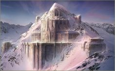 Video Game The Lord Of The Rings: War In The North Game Lord of the Rings Castle Landscape Snow Winter Video Game Wallpaper Fantasy City, Fantasy Castle, Fantasy Places, High Fantasy, Medieval Fantasy, Fantasy World, Fantasy Concept Art, Fantasy Artwork, Fantasy Landscape