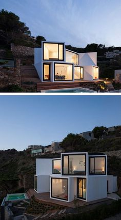 100+ Amazing Shipping Container House Design Ideas #classicalarchitecture