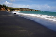 Located on the southern shore of Vieques, Puerto Rico just east of the Blue Horizon Boutique Resort, the aptly named Playa Negra is not for everyone.