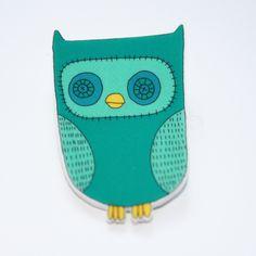 Owl Brooch £2.00 by Kayleigh O'Mara.