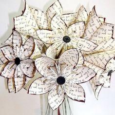"""I love you"" paper flowers....... Tutorial:  foldingtrees.com/2008/11/kusudama-tutorial-part-1/"