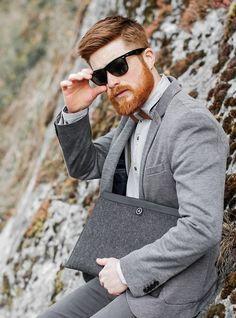 Ginger beard business