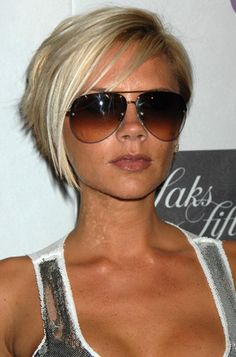 short hair #Victoria Beckham