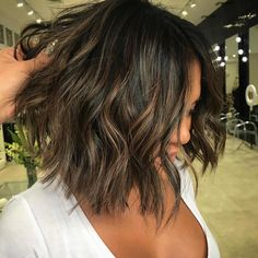 When you become the client! Loving my hair short and sweet! @elliemareehair