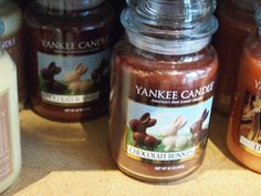 Chocolate Bunnies Yankee Candle!