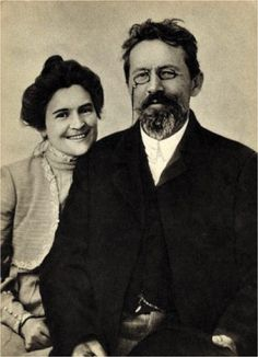 Chekhov and His Wife, Olga L. Knipper