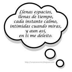 SinSerAnonimo.blogspot.com: Pensamientos 137