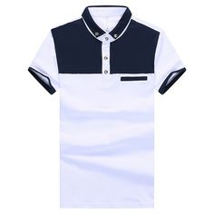Polo Tee Shirts, Polo Shirt Outfits, Polo Outfit, T Shirt, African Clothing For Men, Mens Clothing Styles, Moda Junior, Polo Shirt Design, Moda Formal