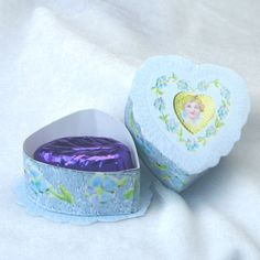 Printable Miniature  Victorian Valentine Boxes - Make Miniature Victorian Chocolate Boxes
