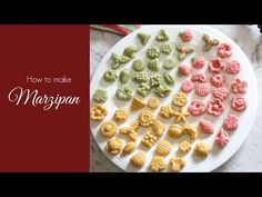 How to make Marzipan, Homemade Marzipan, Marzipan recipe using Cashew Nuts Goan Recipes, Sicilian Recipes, Gourmet Recipes, Sicilian Food, Christmas Sweets, Christmas Baking, Christmas Candy, Delicious Cake Recipes, Yummy Cakes