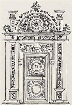 1525-1530 Designof a portaltechnology - Albrecht Altdorfer Titulo original: Entwurf eines Portals