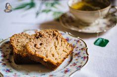 Einfach einfacher und unglaublich leckerer veganer Marzipan-Maronen Kuchen, für kalte und ungemütliche Herbsttage und die Seele.