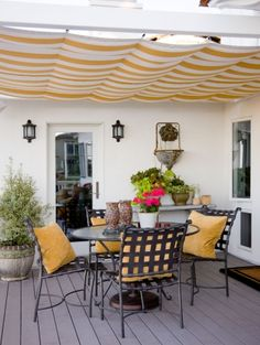 Outdoor Living and outdoor entertaining in a comfortable and personal space