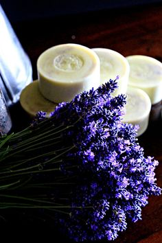 Lavender and lavender soap. Grown and made here in the Waipara Valley NZ.