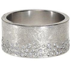 MY DREAM WEDDING BAND trdr395-wh | Palladium with white brilliant cut diamonds (.85ctw)