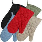 The Home Store Cotton Oven Mitts   $1