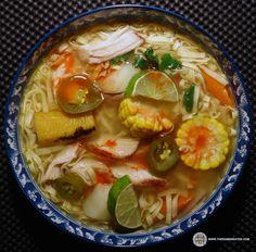 #1204: Nissin Cup Noodles Sabor A Gallina