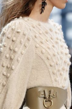Here's a close up on the sweater, which is basically everything we want to be wrapped up in this season! Bishop Sleeve, Cold Day, Sweater Weather, Online Boutiques, Fall Outfits, Luxury Fashion, Ootd, Pullover, Clothes For Women