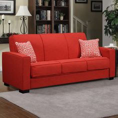Mercury Row Aiden Convertible Sofa | AllModern