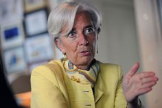 christine lagarde nails the power scarf