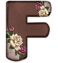 Floral Font, Minnie Png, Flower Alphabet, Name Art, Flower Art, Scrapbook, Letters, Frame, Flowers