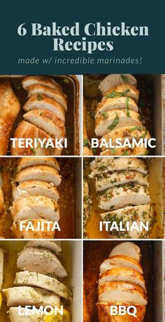 Want flavorful, juicy baked chicken breast every time? Learn how to bake chicken breast + get 6 delicious flavor variations.