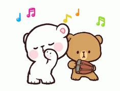 With Tenor, maker of GIF Keyboard, add popular Milk And Mocha animated GIFs to your conversations. Share the best GIFs now >>> Cute Cartoon Images, Cute Couple Cartoon, Cartoon Gifs, Cute Cartoon Wallpapers, Cute Love Gif, Cute Love Pictures, Cute Cat Gif, Dance Gif, Dancing Animated Gif