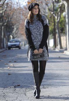 Vestido tricot Massana