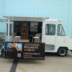 Mexico. Repurposed JW ice cream truck.
