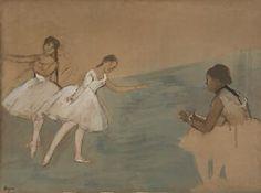 Edgar Degas  - Three Dancers