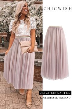 Pinker Maxi Tüllrock Casual Outfit casual party outfits for guys Pleated Skirt, Dress Skirt, Dress Up, Skirt Tulle, Dress Shoes, Skirt Outfits, Cute Outfits, Bar Outfits, Church Outfits