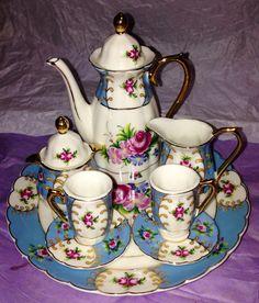 Antique mini tea set ☕️