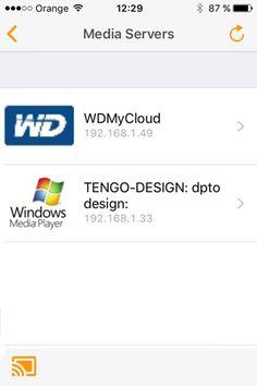 Aplicación Allcast para enviar contenido desde iPhone al GoCast de TenGO!