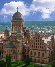 Chernivtsi , Ukraine- Why book a hotel when you can get more value from vacation rentals? Vist http:www://goldsuites.com #travel #topdesinations #vacationrentals