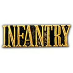 "U.S. Army Infantry Pin 1"" by FindingKing. $8.99. This is a new U.S. Army Infantry Pin 1"""