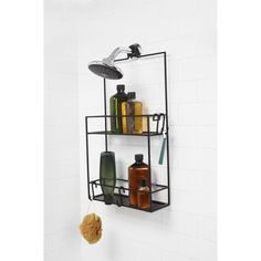 cubiko shower caddy cool for hanging on wall in wardrobe to store jars of make