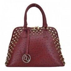 Designer Handbags   Ostrich Studded Tote Fashion Handbags 13d547122894b