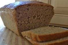 Grain-Free Italian Herb Sandwich Bread -- so EASY you don't even have to knead it! And SO delicious!