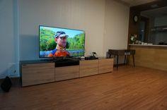 The installation of - Ruarkaudio Flat Screen, Flat Screen Display