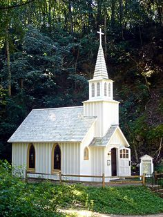 Heritage Canyon: Country Church in Fulton, IL