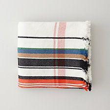 pretty blanket, via Steven Alan. MULTI STRIPE BLANKET