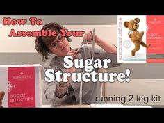"""Have you purchased an Innovative Sugarworks Running 2 Legged Sugar Structure? Are you looking at the instruction sheet and thinking """"This would make so much . Cake Structure, Gravity Defying Cake, Cake Show, Novelty Cakes, Sugar Art, Revolutionaries, Innovation, Fun Cakes, Running"""