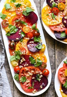 Beet Recipes: Heirloom Tomato and Beet Salad Recipe
