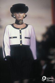Linda Evangelista - Chanel, Autumn-Winter 1990, Couture