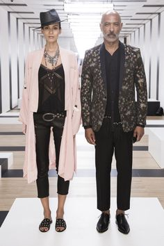 Partnership was the name of the game for The Kooples for spring. The Parisian label, which hosted a presentation during Paris Men's Fashion Week for the first time, is expanding its conceptual univ…
