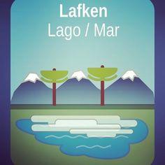 Lafken, lago en #mapudungun