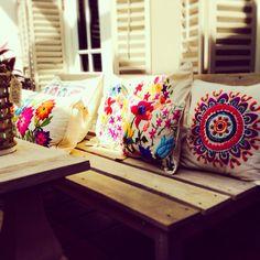 Cushions, almohadones by guadula