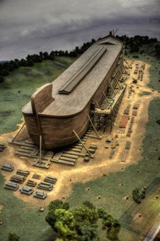 Learn about Noah's Ark and more at the Creation Museum in Northern Kentucky! noahsark noak ark globalflood biblicalhistory creationmuseum is part of Ark museum - Pictures Of Jesus Christ, Bible Pictures, Islamic Pictures, The Ark Encounter, Creation Museum, The Creation, Bible Illustrations, Prophetic Art, Jesus Art