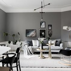 Scandinavian living room | styling by @stylingbolaget & photo by @clearcutfactory for @mohvsolna