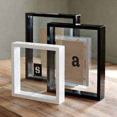 floating lacquer frames 1400 visit store your favorite photos float between two - Modern Picture Frames